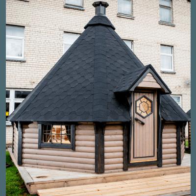 25 m² GRILLHYTTE