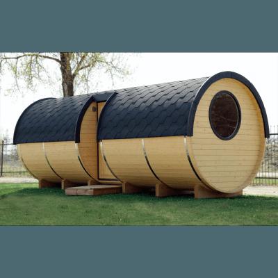 Sauna med opholdsrum 5,9m / ø2,2